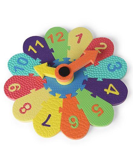 Funjoy My Clock Shape Sorter - Multicolor