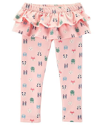 Buy Carters Character Ruffle French Terry Pants Pink for Girls (4-5 ... 723f5ce85ed5