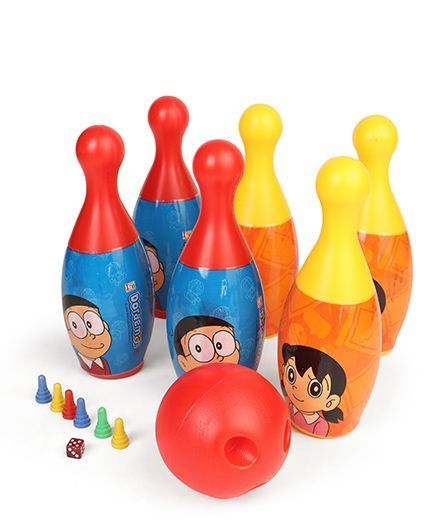 Doraemon Bowling Set (Color May Vary)