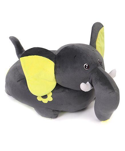 Benny & Bunny Elephant Sofa Seat - Black Yellow