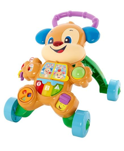 Fisher Price Learn With Puppy Walker - Multicolor