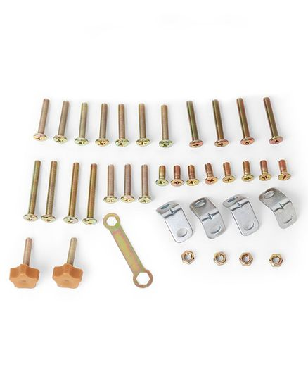 NUBF023 Nuts N Screw Set For Baby Furniture