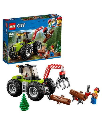 Lego City Forest Tractor Building Blocks Set Multi Color - 174 Pieces