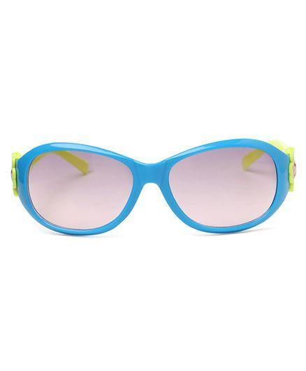 Babyhug UV 400 Protected Sunglasses - Teal Blue Yellow