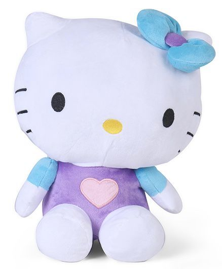023689e664a Hello Kitty Plush Toy Blue Purple Height 36 cm Online India, Buy Soft ...