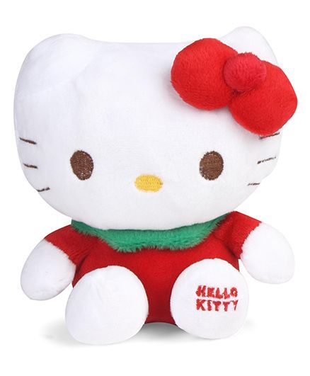 Hello Kitty Plush Toy Red - Height 15 cm