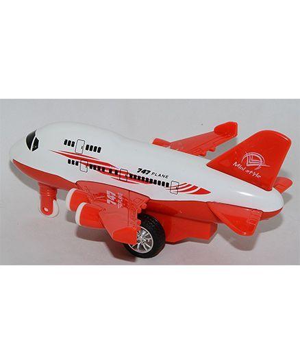 VibgyorVibes Pull Back Friction Aeroplane Toy (Color May Vary)