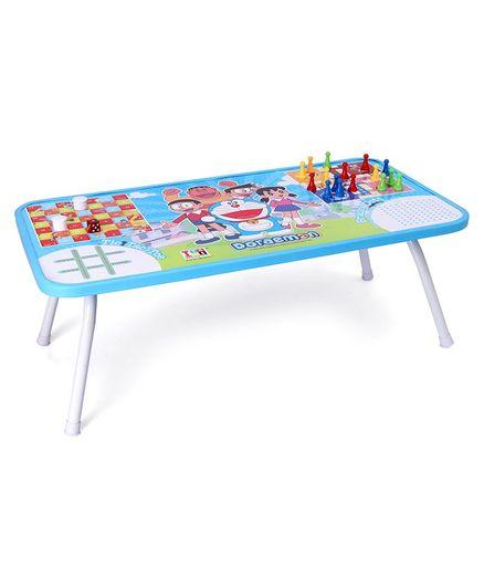 Doraemon Foldable Gaming Table - Blue