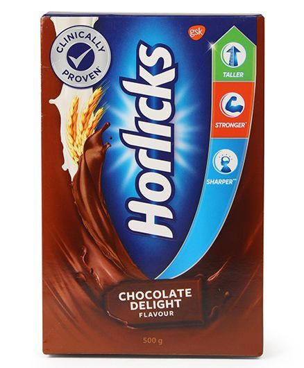 Horlicks Chocolate Flavoured Refill Pack - 500 gm