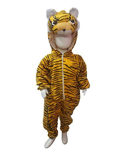 BookMyCostume Tiger Theme Fancy Dress Costume - Yellow