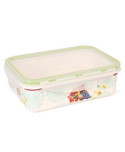 Disney Winnie The Pooh Printed Lunch Box - Off White