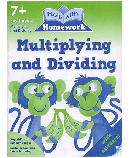 Multiplying and Dividing Book - English