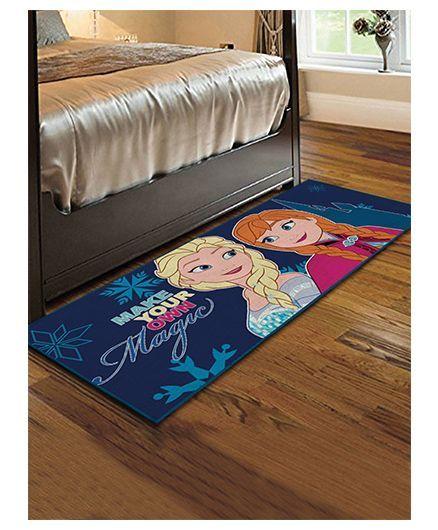 Disney Frozen Theme Runner Carpet - Indigo