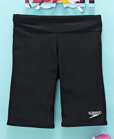 Speedo Swimming Trunks Logo Embroidery - Black