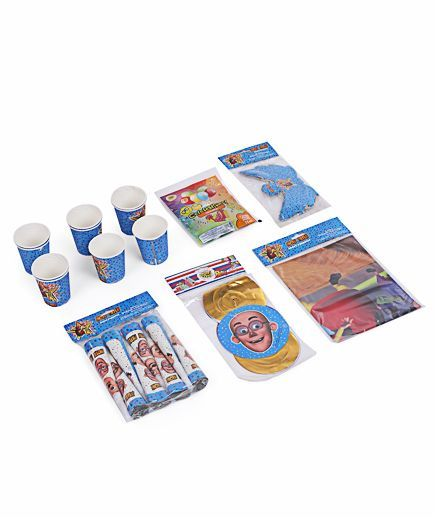 Themez Only Motu Patlu Birthday Party Kit