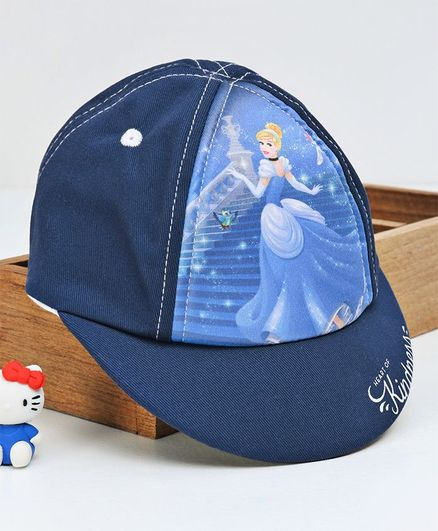 Babyhug Summer Cap Cinderella Print Blue Online in India 517047987f5