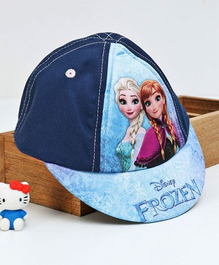 Disney Princess Elsa and Anna Frozen Baseball Cap Hat 3-6 Years