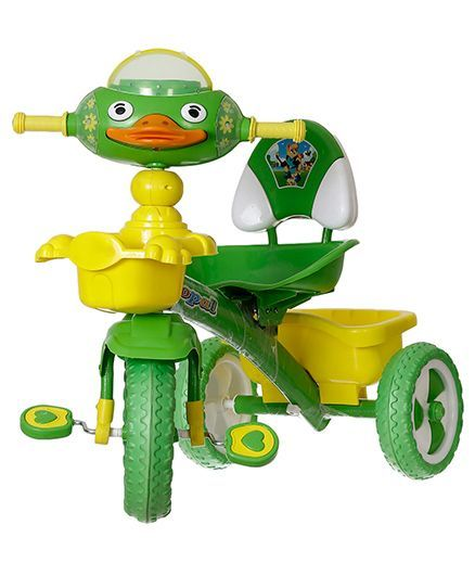 Dash Opal Tricycle With LED Lights - Green