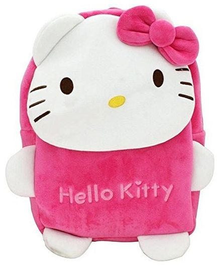 dee3815833b Frantic Velvet Nursery New Hello Kitty Bag Pink Height 14 inches ...