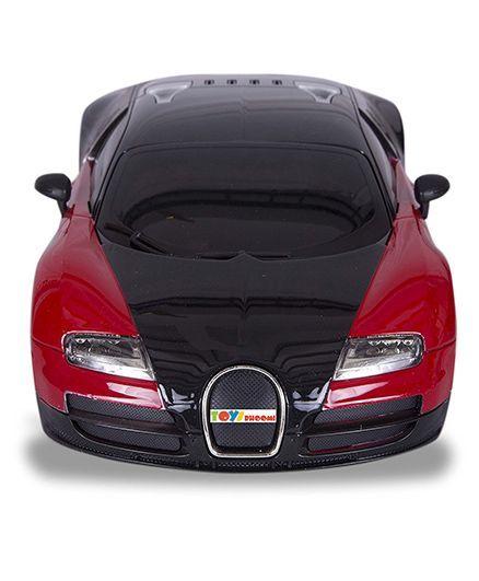 toys bhoomi sporty remote controlled bugatti veyron red black