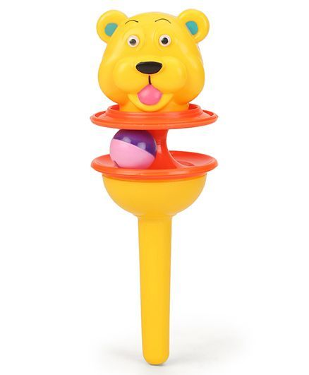 Ratnas Lolly Pop Rattle Bear (Color May Vary)