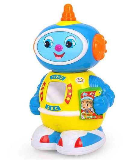 Zest 4 Toyz Space Doctor Robot With Music And Light - Blue And Yellow