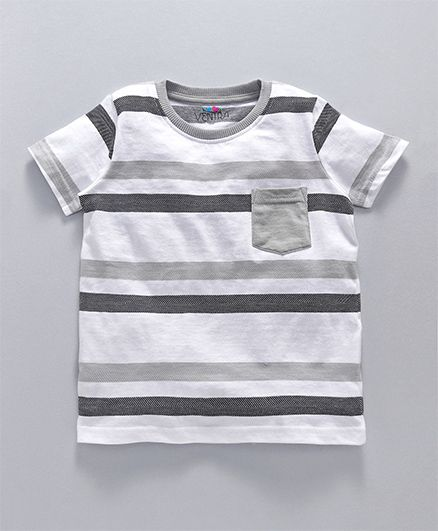 Ventra Stripes Tee - Black