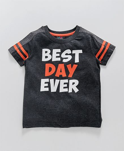 Ventra Best Day Ever Print Tee - Black