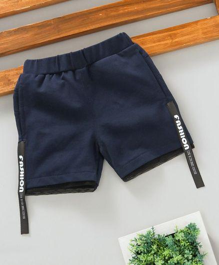 Lekeer Kids Casual Shorts - Navy Blue