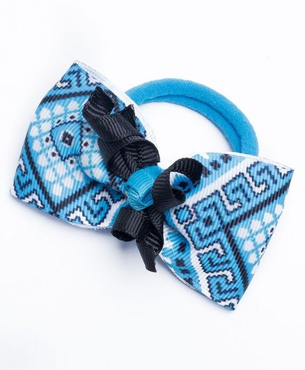 Ribbon Candy Aztec Hair Rubber Bands Blue   Navy for Girls (2-10 ... e77d4b03fbe