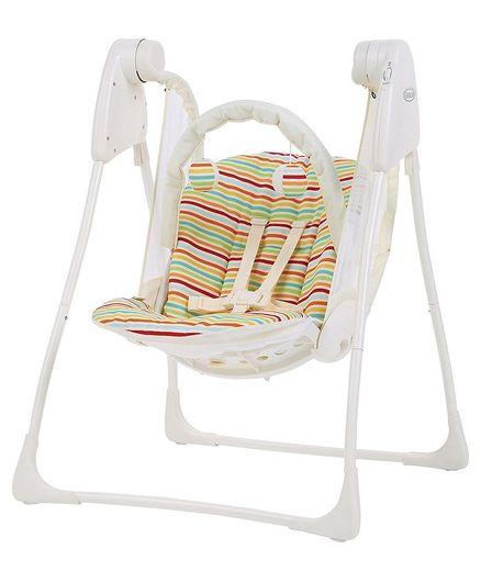 Graco Baby Delight Candy Stripe Swing - Multicolour