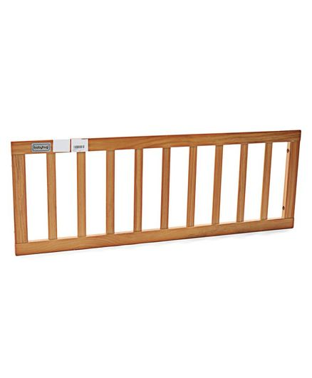 NUBF019 Side Railing (Large)- Natural For Baby Furniture
