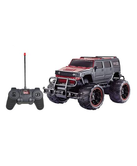 Flyers Bay Remote Control Hummer Electric RTR Monster Toy Car - Black