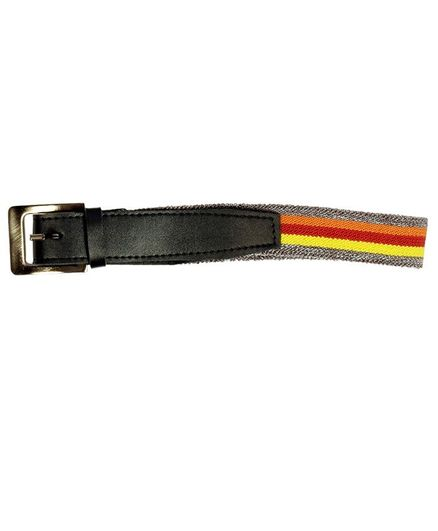 Miss Diva Stretchable Belt - Black And Red