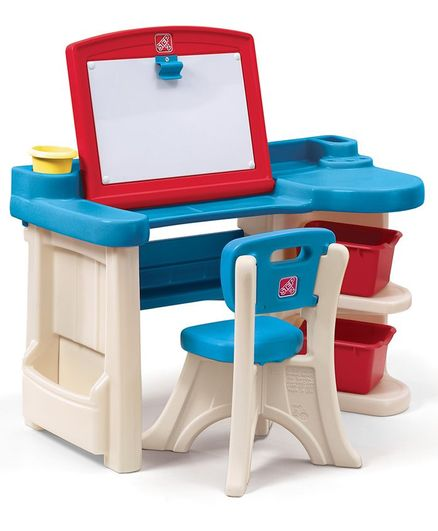 Step2 Studio Art Desk - Blue & Red