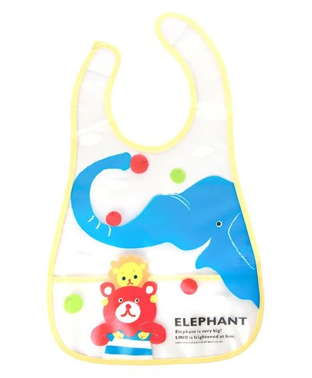 Mee Mee Drooler Bib With Pocket(Colour & Print May Vary)