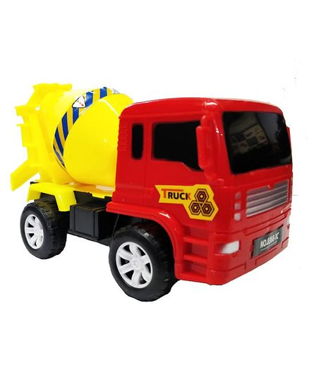 Emob Friction Powered Cement Mixer Push And Go Vehicle - Red