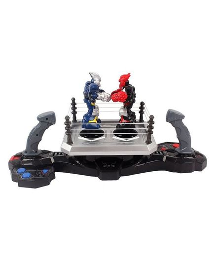 Toys Bhoomi Competitive Multiplayer Boxing Joystick Robots Playset With Light & Sound - Grey Silver
