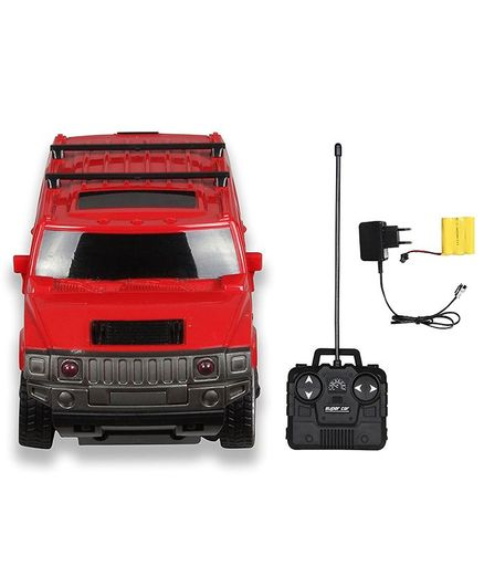 Toys Bhoomi Remote Controlled Hummer Car - Red