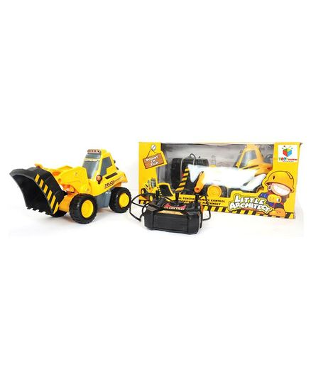 Toys Bhoomi Remote Control Front Loader - Yellow