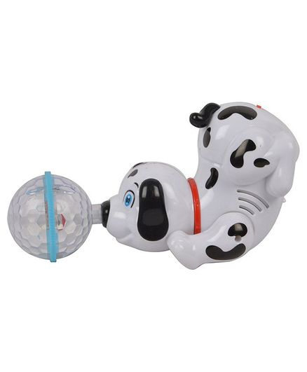 Vibgyor Vibes Light and Sound Musical Dancing Puppy (Colour May Vary)