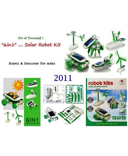 Vibgyor Vibes DIY Mini 6 in 1 Solar Kit - Green & White