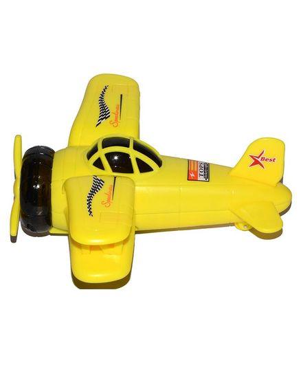 Vibgyor Vibes Push & Go Fighter Bomber Aeroplane Toy (Colors May Vary)