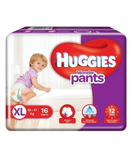 Huggies Wonder Pants Style XL Diapers (16 Pieces)