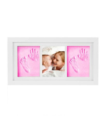 Passion Petals Baby Handprint Kit With Wooden Frame Pink Online in ...