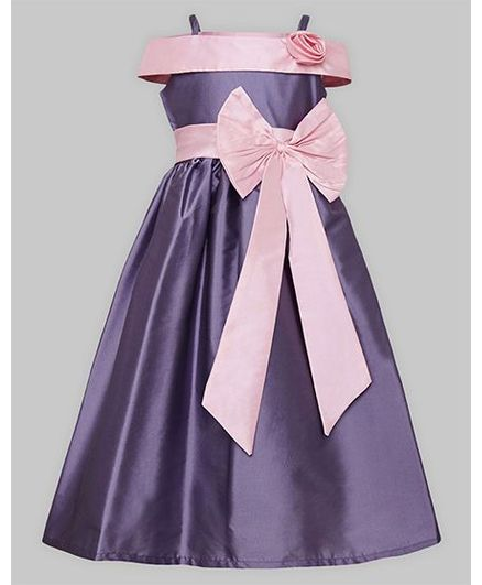 Buy A.T.U.N Off Shoulder Gown Lavender for Girls (3-4 Years) Online ... dfb44acb9938