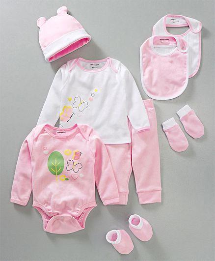 My MilestonesInfant Essentials Gift Set Pink - 8 Pieces