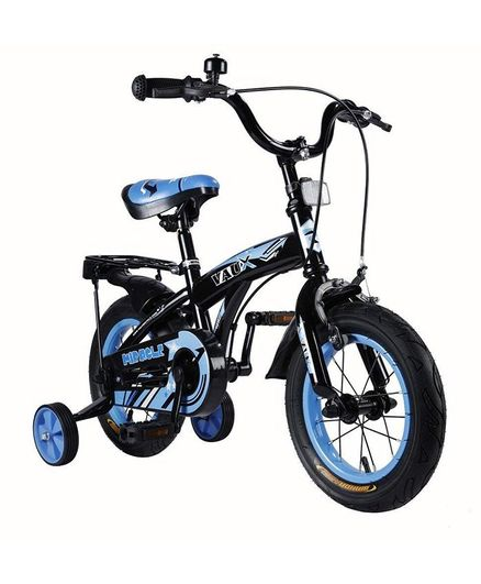 Vaux Miracle Bicycle With Training Wheels Blue - 12 inches