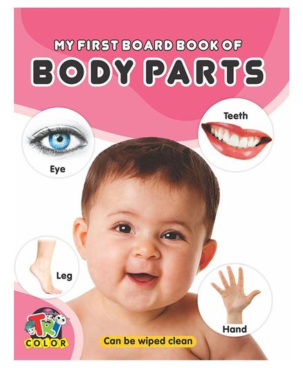 My First Board Book of Body Parts - English
