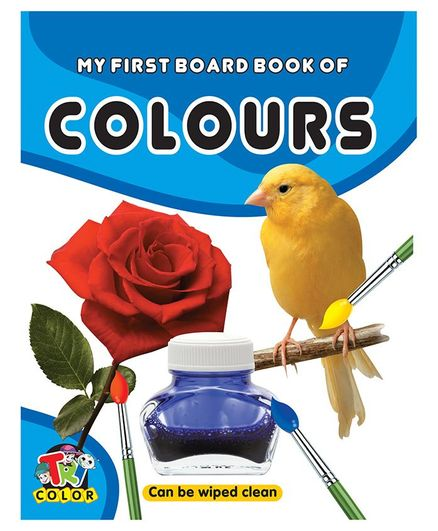 My First Board Book of Colours - English